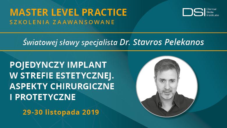 Pojedynczy implant w strefie estetycznej wg dr Stavrosa Pelekanosa